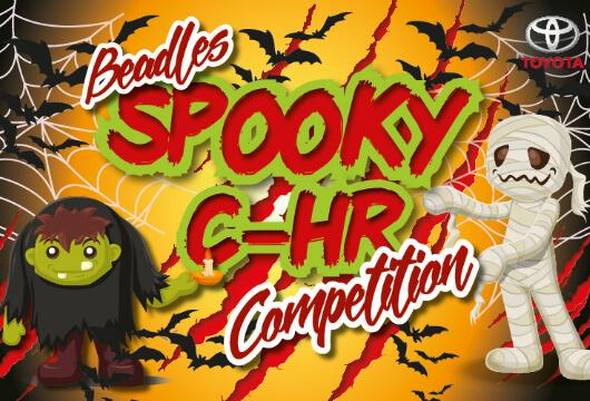 Beadles Toyota Medway Spooky C-HR competition!